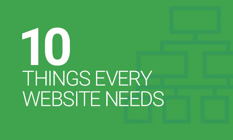 10 things your website should have