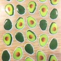 Check out these cute avocado stickers we found  perfect