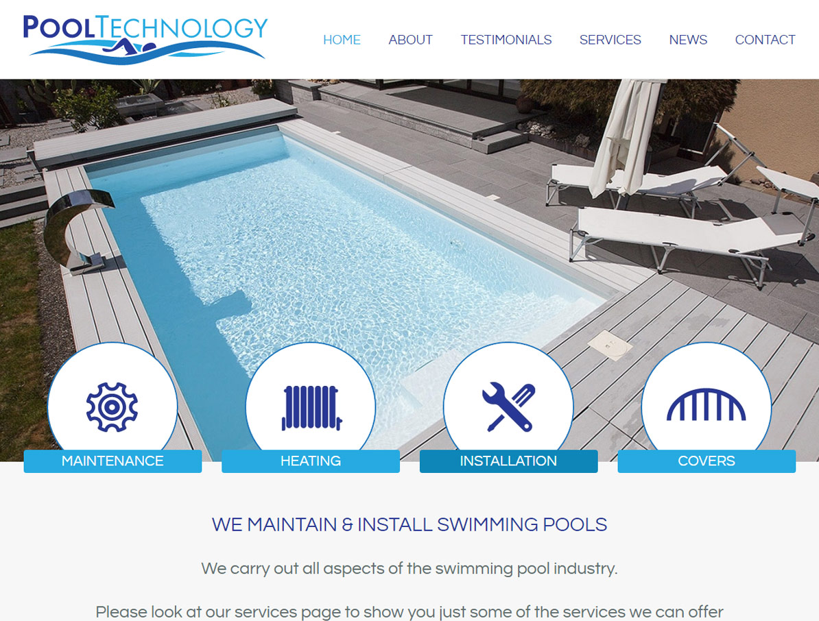 Pool Technology Primary Screenshot
